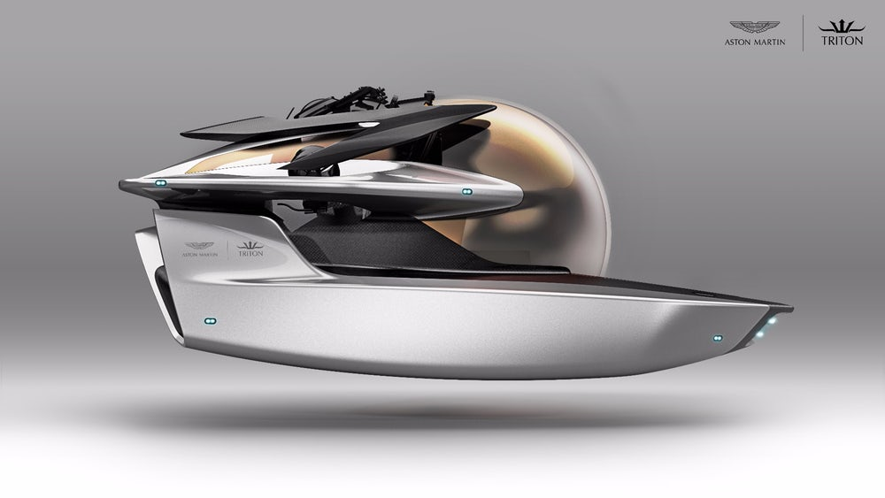 Even James Bond Would Approve Of Aston Martin's New Luxury Submarine