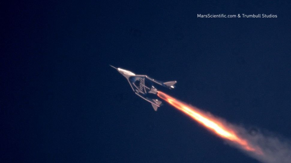 "Virgin Galactic Carries Its First ""Tourist"" To Space"