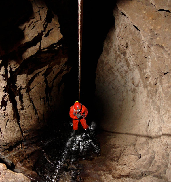 The World S Deepest Underwater Cave Is Almost The Height