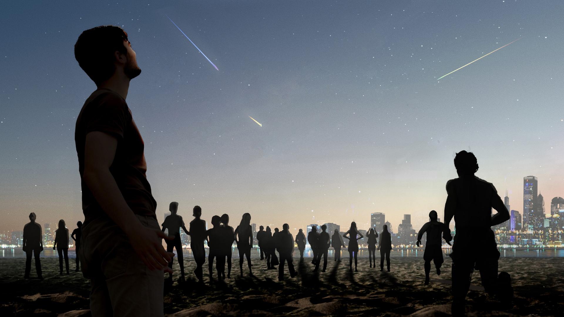 Dutch Artist Envisions Transforming Space Trash Into Fiery Shooting Stars