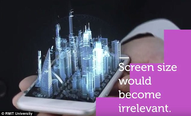 Your Smartphone Could Soon Project 3D Holograms