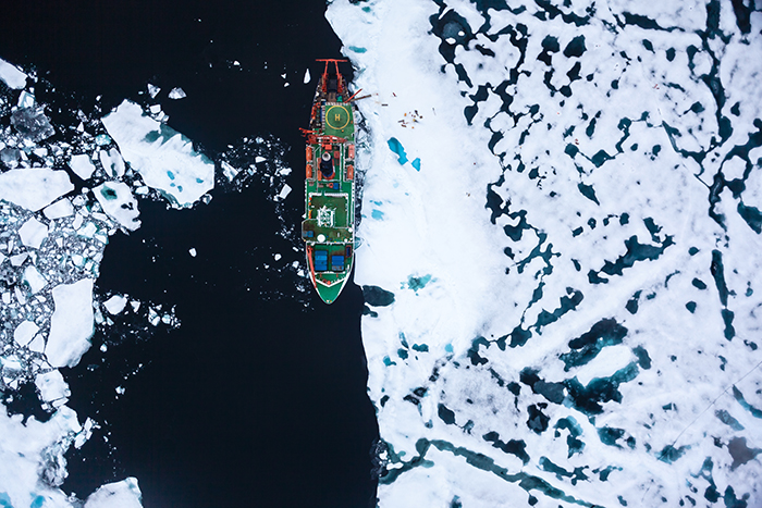 Researchers Freeze Ship Into Arctic Ice For Year-Long Study On Climate Change