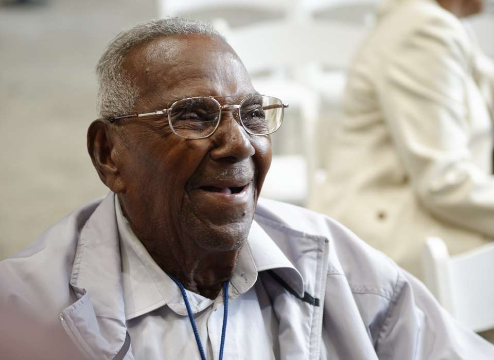 Wish Lawrence Brooks, America's Oldest Living World War II Veteran, A Happy 111th Birthday!