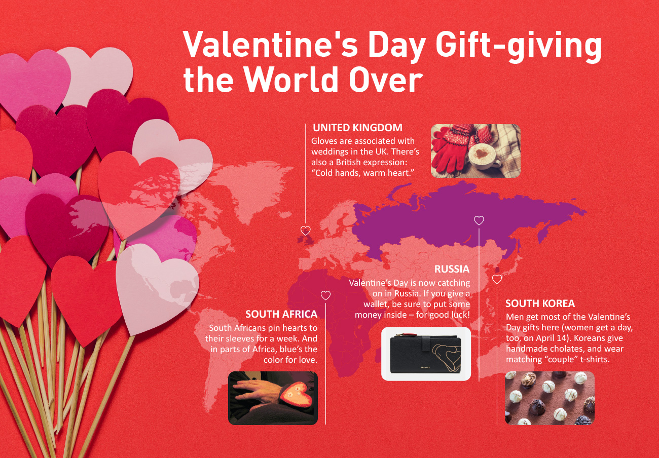 Unique Valentine S Day Traditions From Around The World Kids News