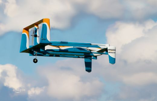 Amazon's New Delivery Drone Is Sleeker, Smarter, And Still Illegal!