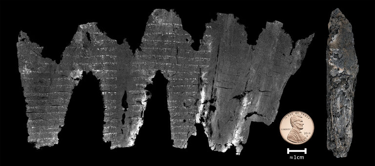 'Virtual Unwrapping' Allows Scientists To Unlock Secrets Of 1,500-Year-Old Scroll