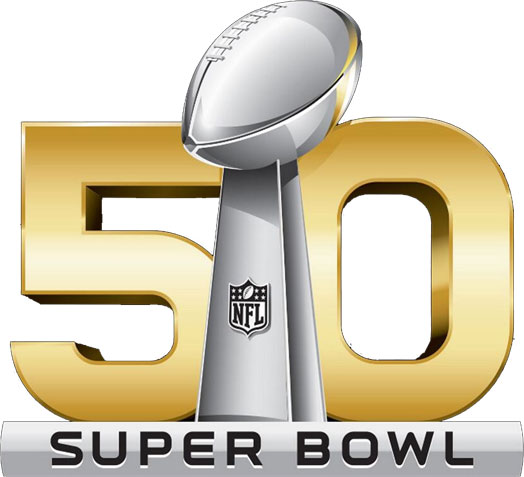 Super Bowl 50 Logo ( Image Credit: By Source, Fair use – wikipedia ...