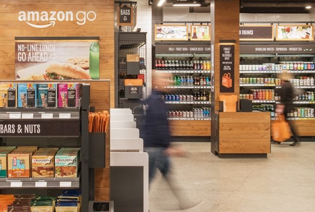 Amazon's Check-Out Free Convenience Store Opens For Business