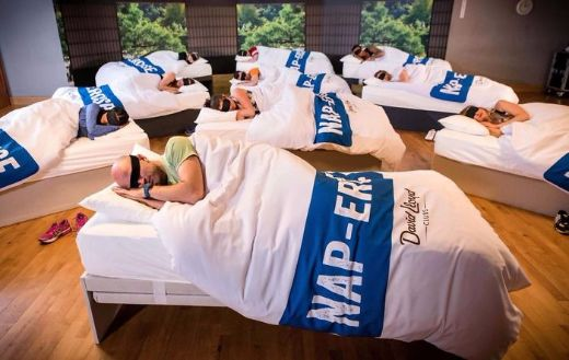 U.K. Gym Offers Group Napping Classes For Exhausted Clients