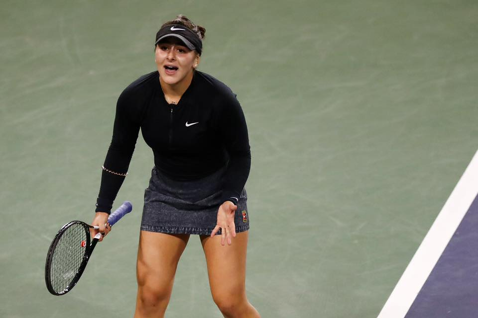 Canada's Bianca Andreescu Makes History At The 2019 US Open Tennis Championships
