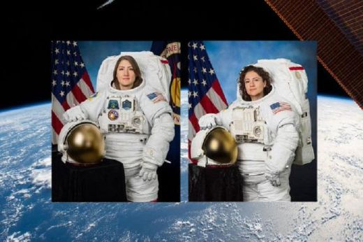 The First All-Female Spacewalk Is A Success!