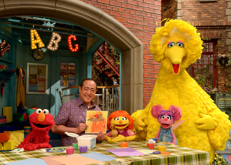 Julia, A New Muppet With Autism, Finds Her Way To Sesame Street
