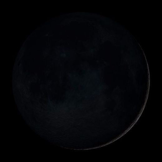 September Ends With Rare Black Moon