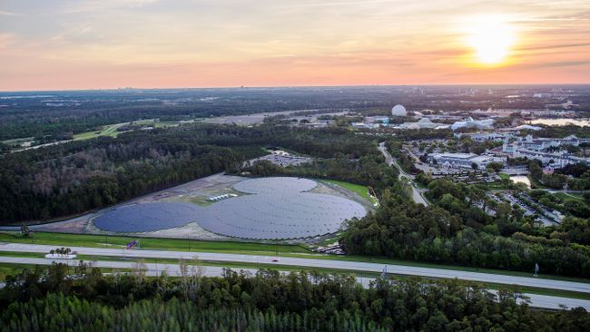 Quot Not So Hidden Mickey Quot Shaped Solar Farm To Power Orlando