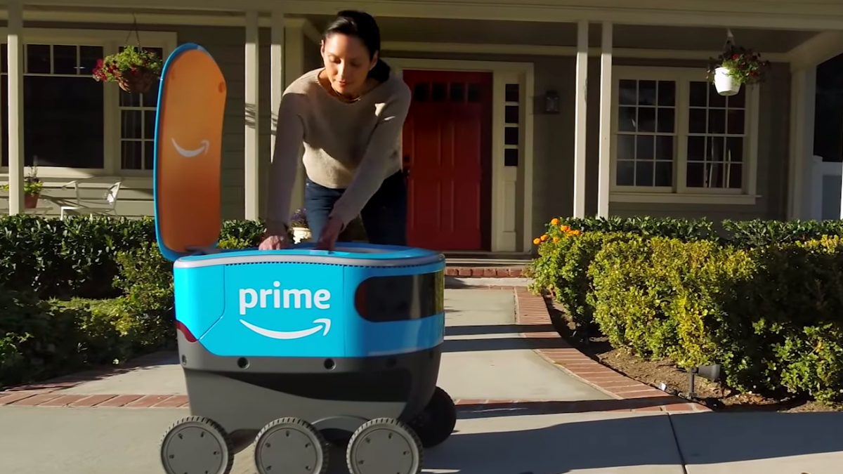 Amazon's Delivery Robots May Soon Be Knocking At Your Door
