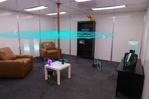 Disney Scientists Reveal The Future With Wireless Charging Room