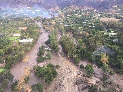 Fire-Ravaged Santa Barbara Now Grapples With Devastating Mudslides