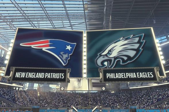 Patriots and Eagles will compete In Super Bowl 52 (Photo Credit EA Sports) 60fd90bbd