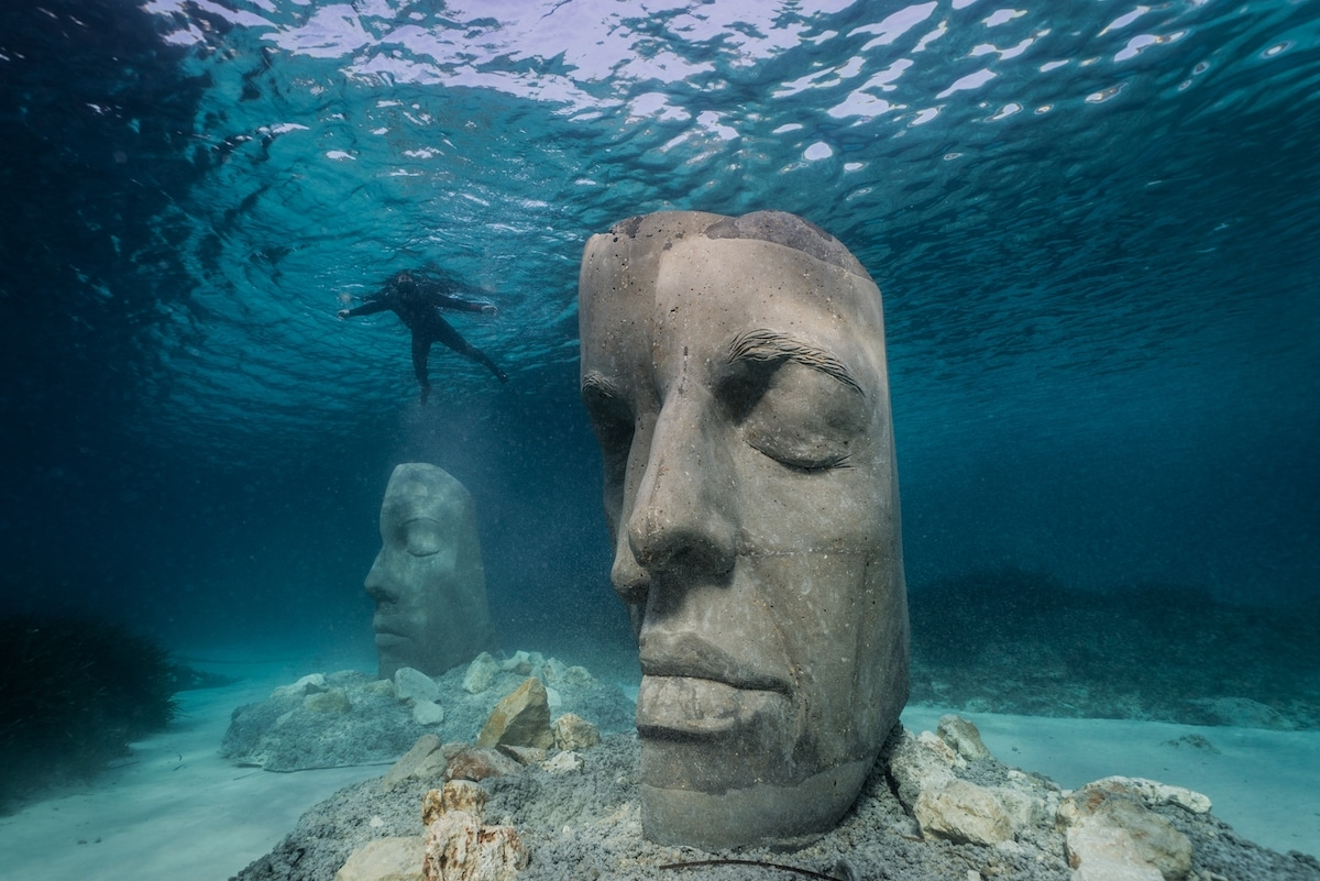 British Sculptor's Innovative Underwater Museums Double Up As Marine Ecosystems