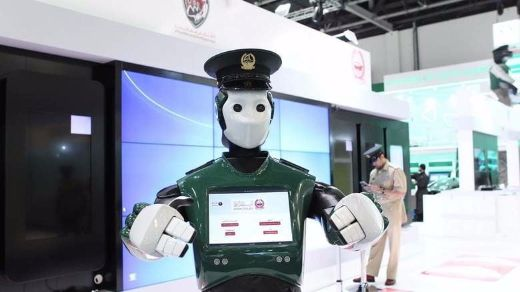 Dubai Deploys A Real-Life Robocop To Help Citizens