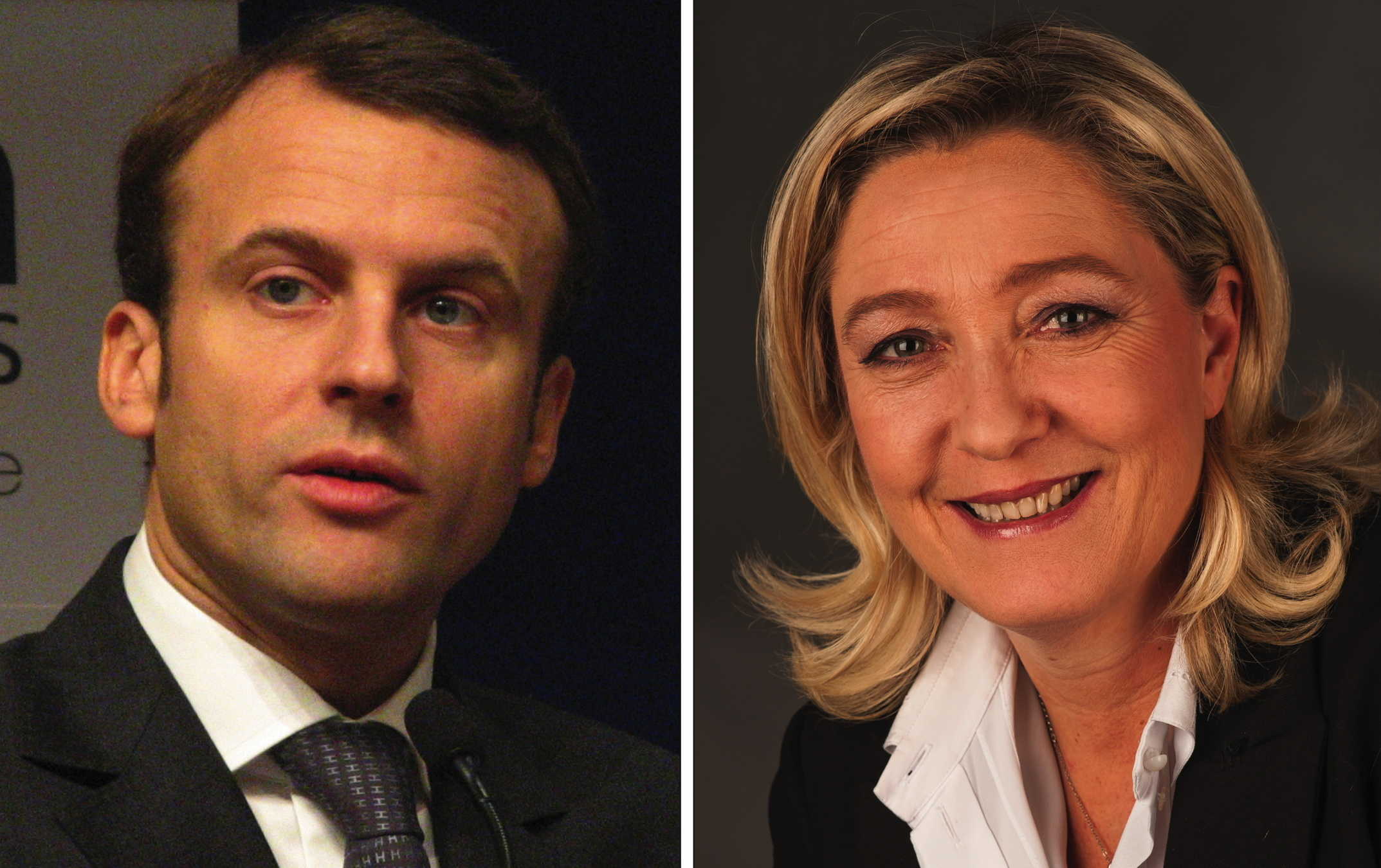 Emmanuel macron is frances youngest leader since napoleon emmanuel macron and marine le pen photo credit by copyleft 2 foto ag gymnasium melle cc by sa 40 via wikimedia commons robcynllc Image collections