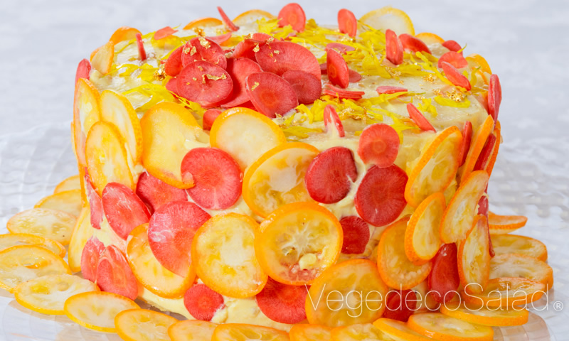 Salads Disguised As Cakes Are A Hit In Japan Kids News Article