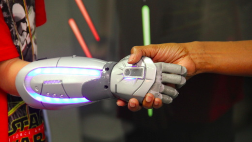 Disney And Open Bionics Team Up To Create 3-D Printed Superhero Prosthetic Arms
