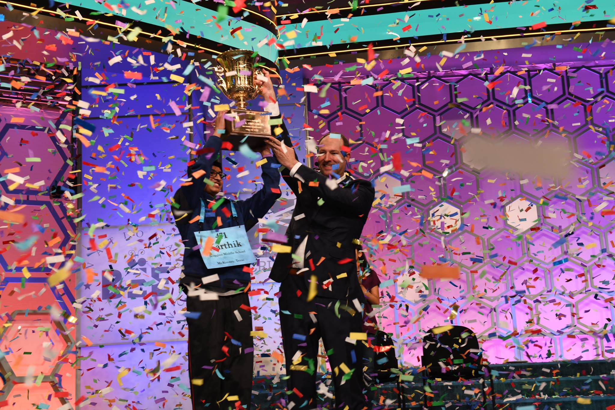 Wild Card Contender From Texas Wins The 2018 National Spelling Bee