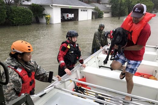 Americans Come Together To Help Texas Heal After Harvey