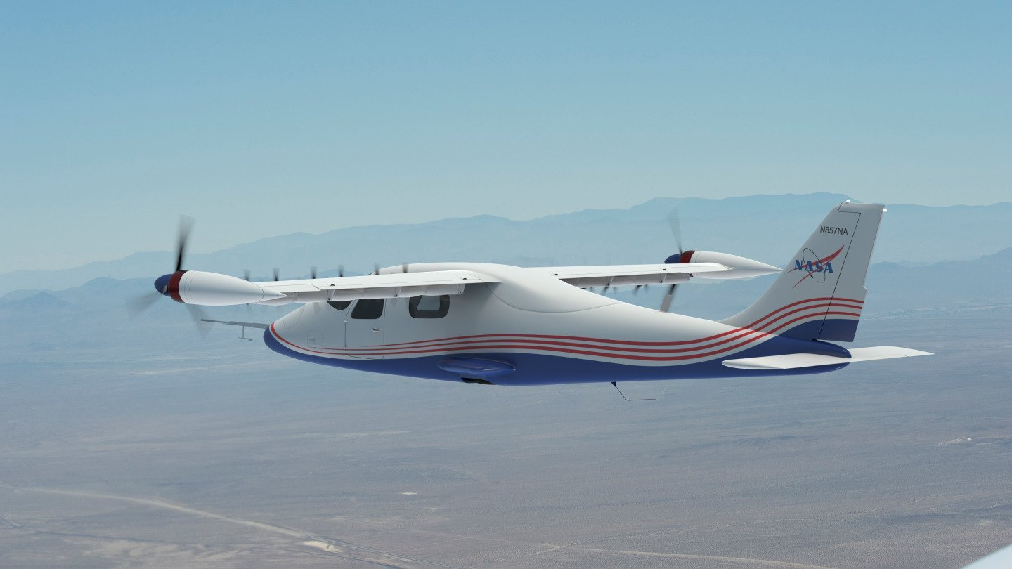 NASA's X-57 Maxwell Plane Designed To Pave The Way For Future All-Electric Aircraft