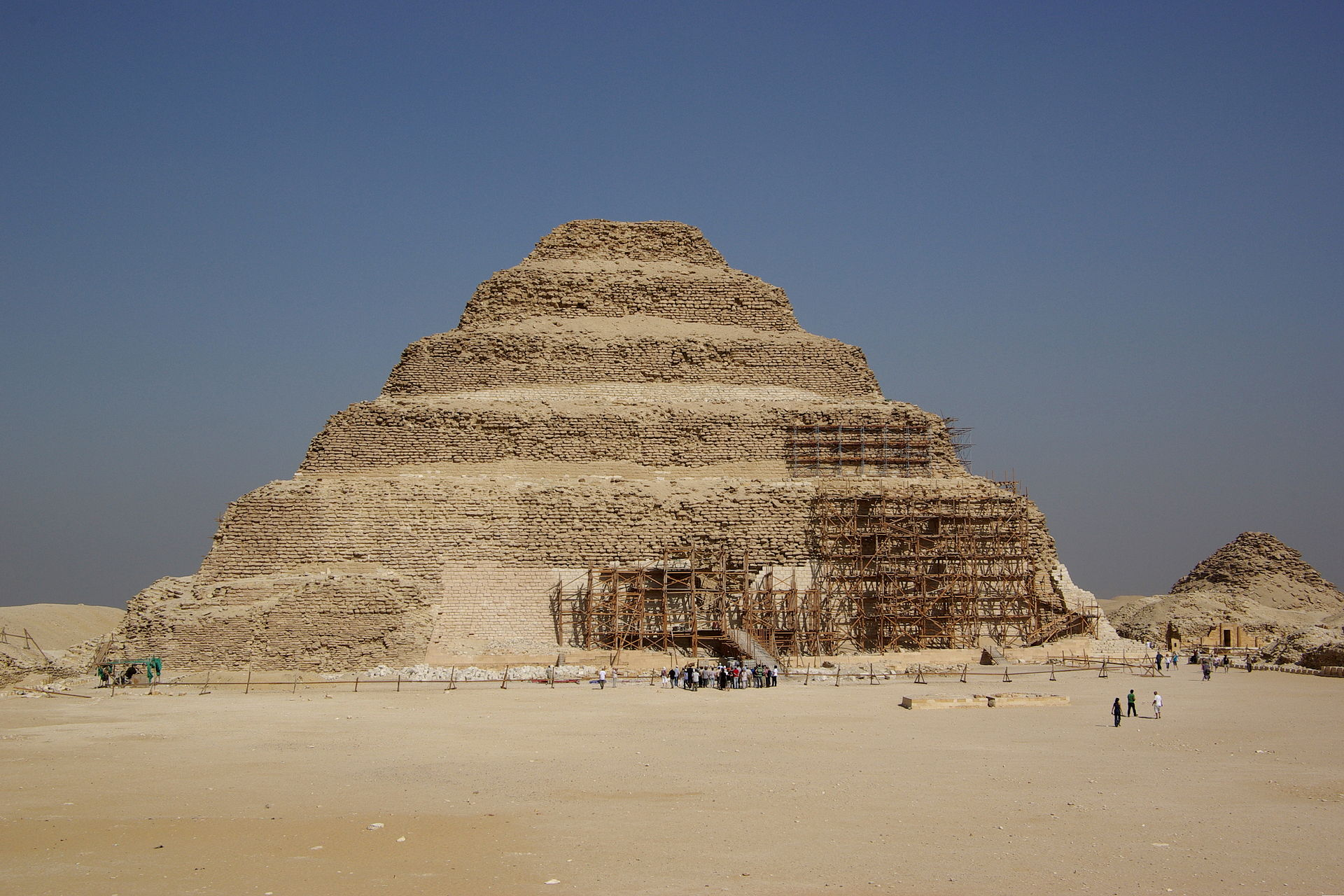The Pyramid Of Djoser, Egypt's Oldest Pyramid, Restored To Its Former Glory