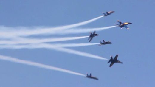 Video Of The Week - US Navy Blue Angels Soar Over San Francisco Skies