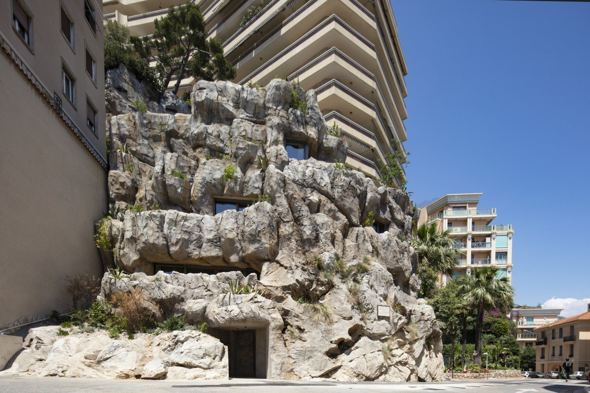 Monaco's Villa Troglodyte Gives A New Meaning To Living Under A Rock