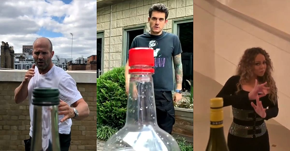 The Bottle Cap Challenge Is Taking The Internet By Storm