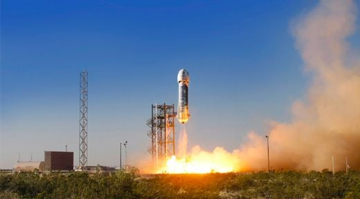 Blue Origin Makes History With Successful Launch And Landing Of Reusable Rocket