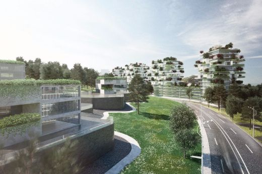 "Italian Architect Envisions ""Forest Cities"" To Combat China's Air Pollution"
