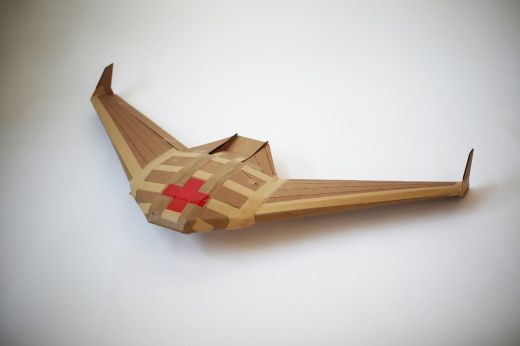 "Biodegradable Cardboard Drones Designed To Crash And ""Die"" After Single Use"