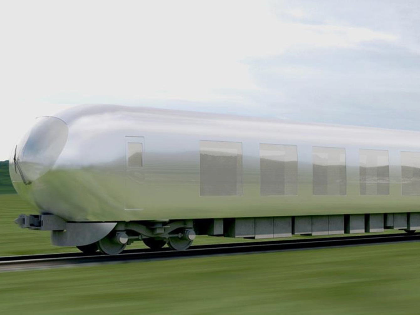 "Japan's New Train Will Be ""Invisible"""