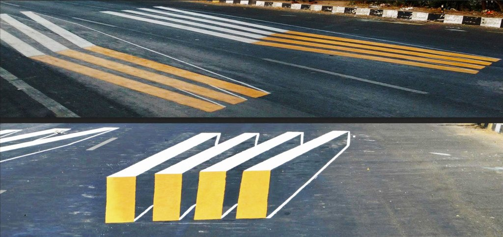 The 3-D Zebra Crossings That Are Making India's Roads Safer For Pedestrians