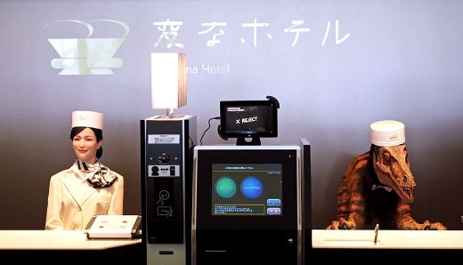 World's First Robot-Staffed Hotel Is Open For Business in Japan