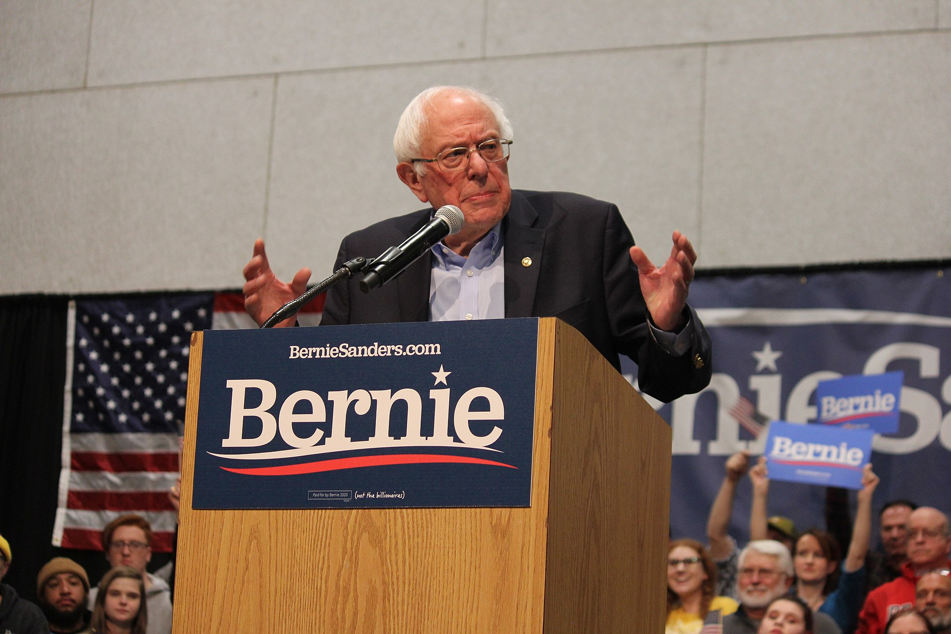 Vermont Senator Bernie Sanders Ekes Out A Narrow Victory in New Hampshire Primary