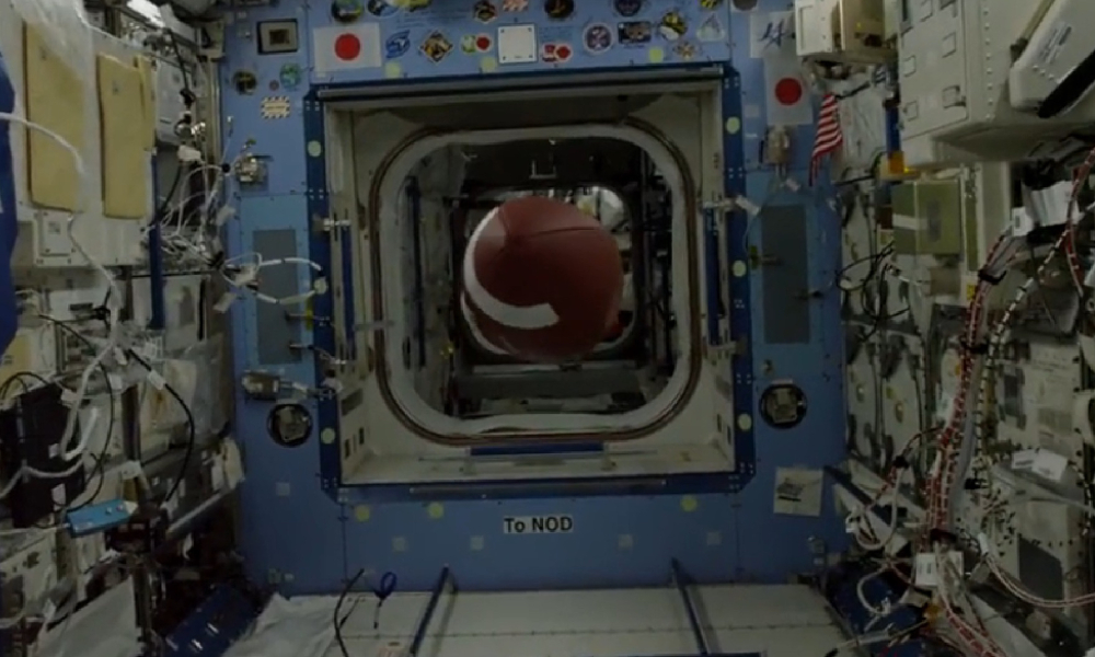 Video Of The Week — Epic Football Pass By ISS Astronaut Covers 564,664 Yards!