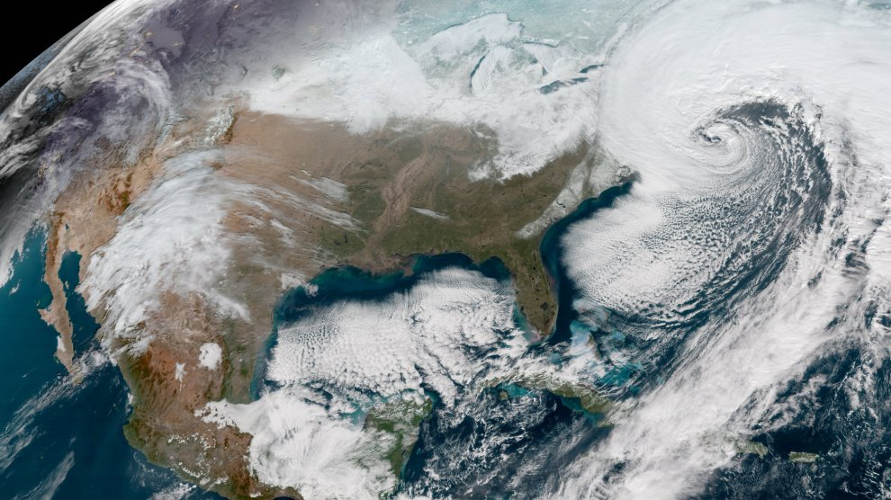 """Bomb Cyclone"" Brings Bitter Cold Weather To The US East Coast"