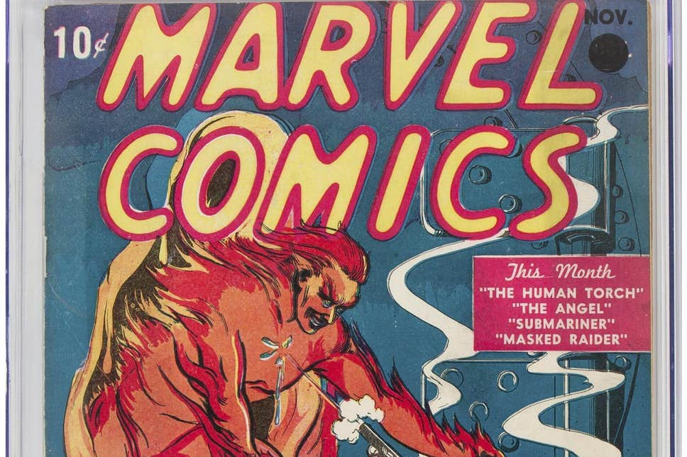 Pristine Copy Of First Marvel Comics Issue Auctions For $1.26 Million