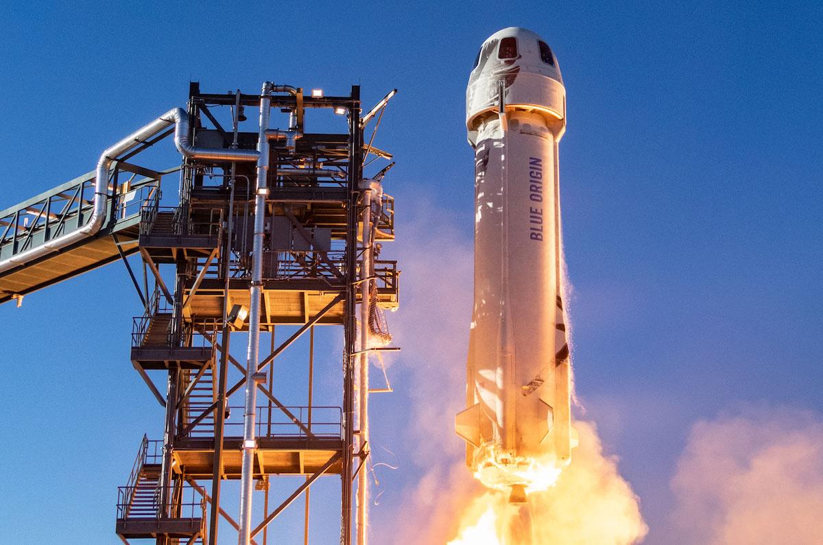 Billionaires Jeff Bezos And Richard Branson Blast Off To Space!
