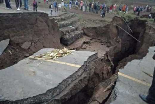 Seismologists Puzzle Over The Cause Of A Massive Crack In Kenya's Rift Valley