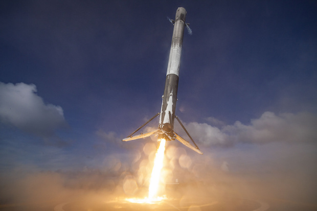 SpaceX Makes History With Successful Launch And Landing Of