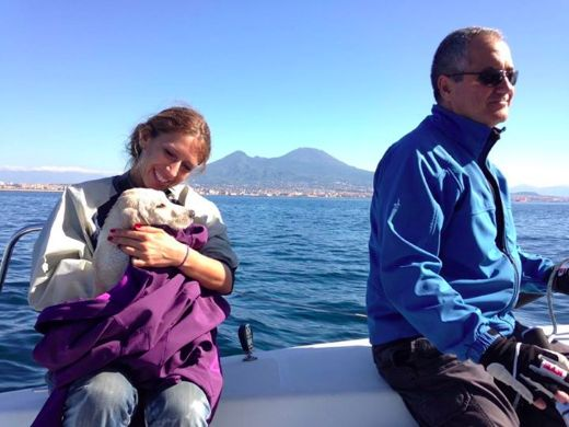Video Of The Week - Italian Sailors Rescue Adorable Puppy Lost At Sea