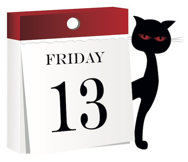 Enjoy This Year's Only Friday The 13th!