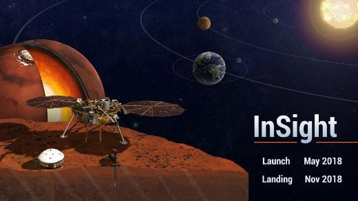 Touchdown! InSight Lands Safely On Mars